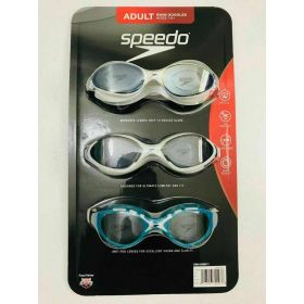 Speedo Goggle Adult 3 Pack-Womens