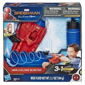 Spider Man Web Cyclone Blaster with Web Fluid
