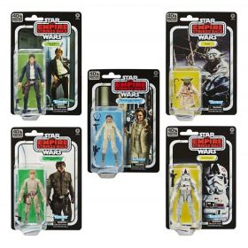 Star Wars Black Series 40th Anniversary Complete 5 Action Figures