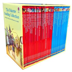 The Usborne Reading Collection 40 Book Box Set