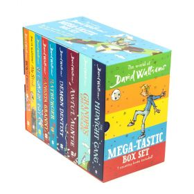 The World of David Walliams Mega-Tastic Box Set