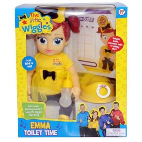 The Wiggles Emma Wiggle Toilet Time Interactive Potty