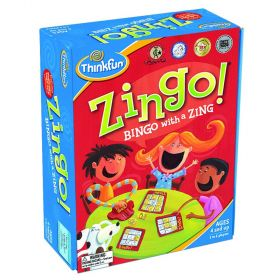 THINK FUN Zingo Bingo With A Zing Award winner