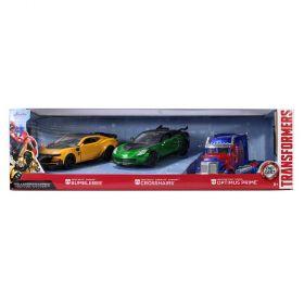 Transformers 3 Piece Die Cast Cars