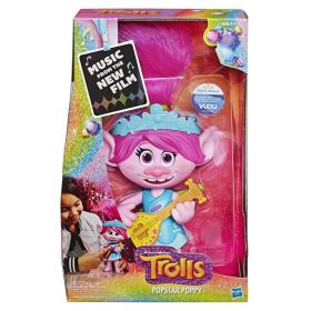 Trolls Popstar Poppy Singing Doll