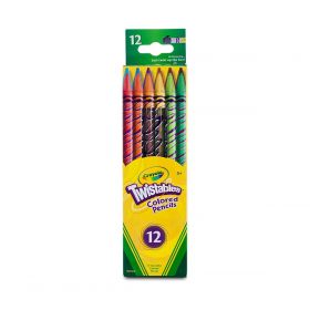 Crayola 12 Twistables Coloured Pencils