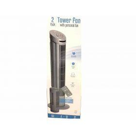 Ultra Slimline Tower Fan Combo Pack