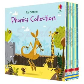 Usborne Phonics Mini 12 Books Collection