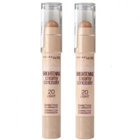 2 x Maybelline New York Dream Bright Creamy Concealer 20 Light