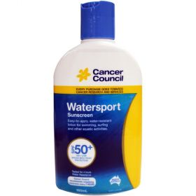 Cancer Council 180ml Watersport SPF 50+ Lotion