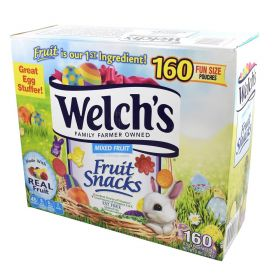 Welch's Easter Fruit Snacks Mixed Fruit 160 pouches