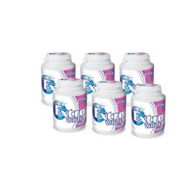 Wrigley's EXTRA Bubblemint Sugarfree Chewing Gum 6 x 64g Bottles
