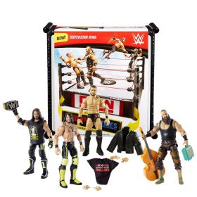 WWE Ultimate Superstar Ring With 4 Superstar Figures