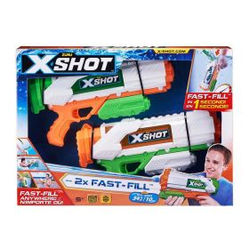 Zuru X Shot Water Warfare Fast-Fill Water Blasters 2 Pack