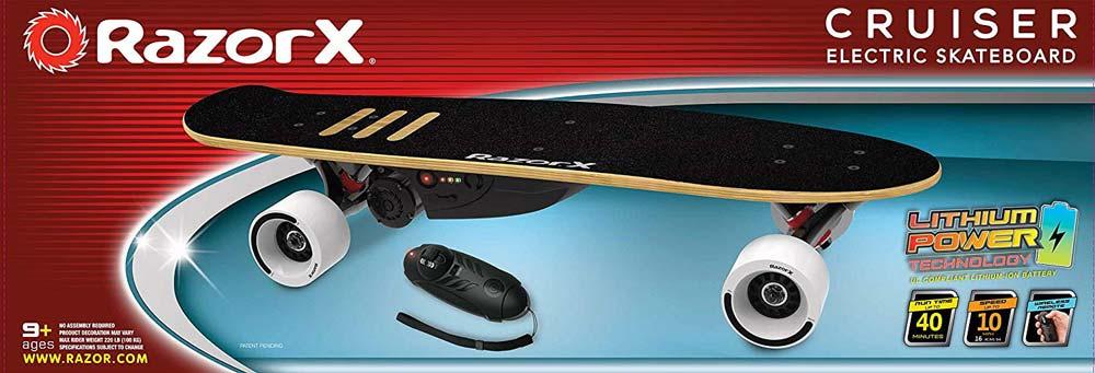 b2c0ab4af9c Razor X Cruiser Electric Skateboard